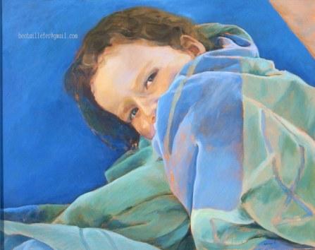Azul. t. mixta 73x92 cms