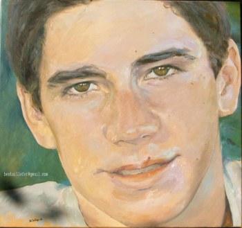 retrato óleo 60x65