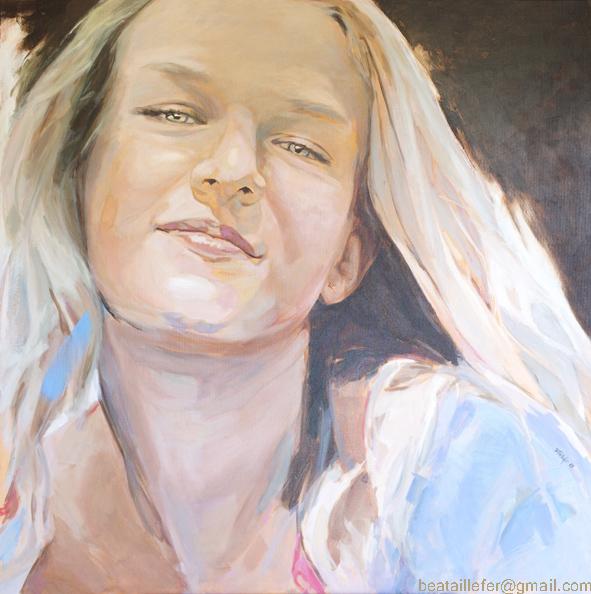 retrato I acrílico